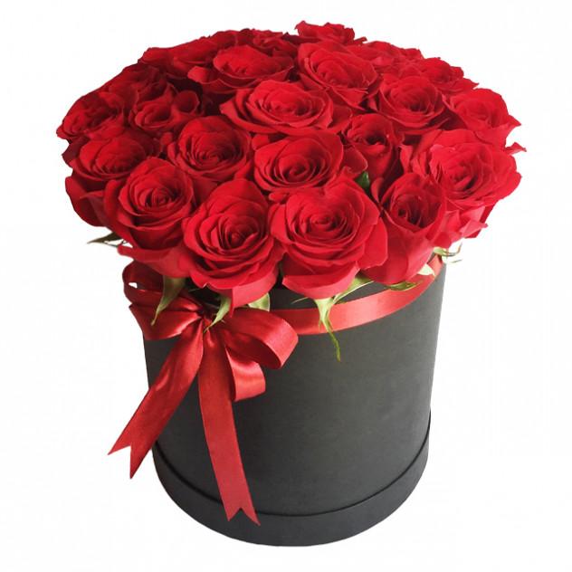 "Розы в коробочке ""Классика"""