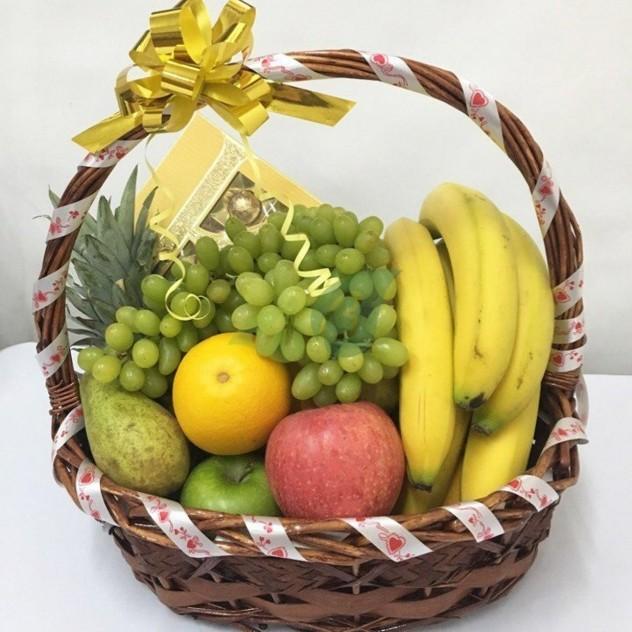 Корзина с фруктами 4 кг