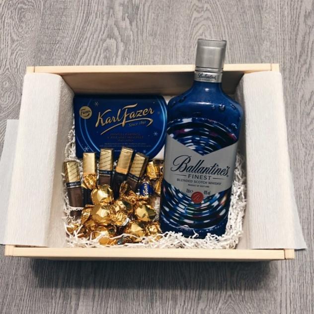 """Подарочный набор """"Коллеге с Виски"""""""